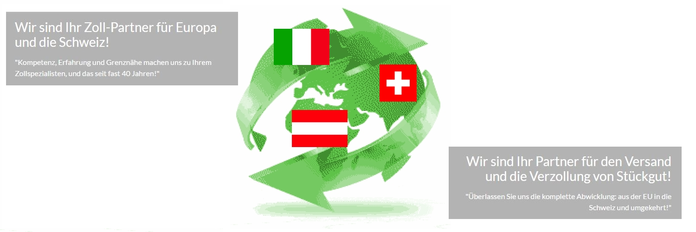 Wir sind Ihr Zoll-Partner für Europa und die Schweiz!